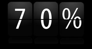 قانون 70 درصد چیست؟